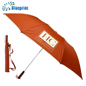 Made in China 28 inch big size golf umbrella 2 folding automatic