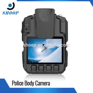 High quality motion detection gps security auto IR police body camera with night vision