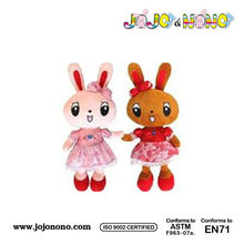 ICTI and Sedex audit new design EN71 Easter plush singing plush bunny oem factory