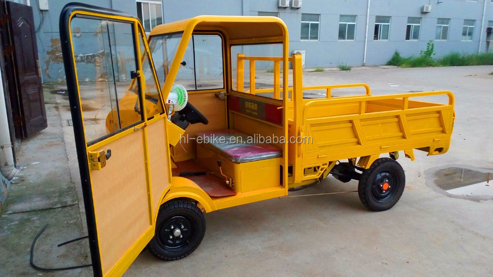 Electric Van Pickup Voiture Quadricycle Ev Electric Small