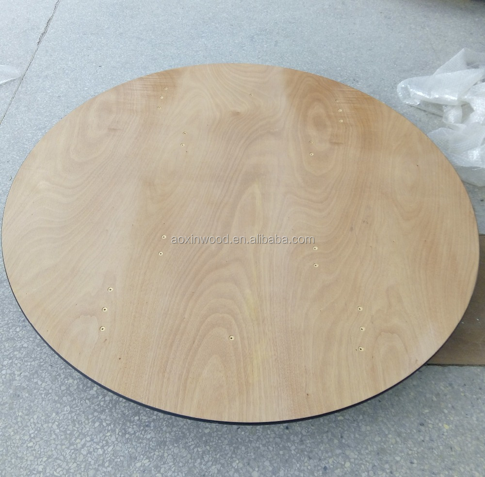 large round wood dining tables