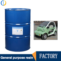 Wholesale high-class FRP resin unsaturated polyester(UPR) resin general FRP resin for water tanks and car shell so on