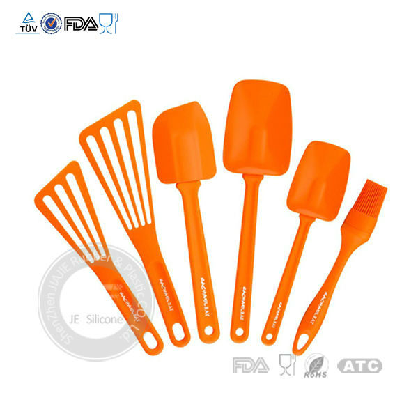 High quality durable colorful silicone kitchen utensils