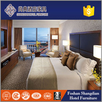 China Foshan hospitality hotel furniture factory modern bedroom complete set