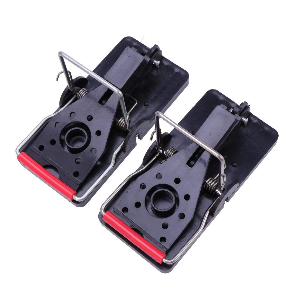 badb0243f6e Get Quotations · OUNONA 2pcs Plastic Snap Mouse Trap Rodent Mouse Trap  Catcher for Mouse Control Home Use