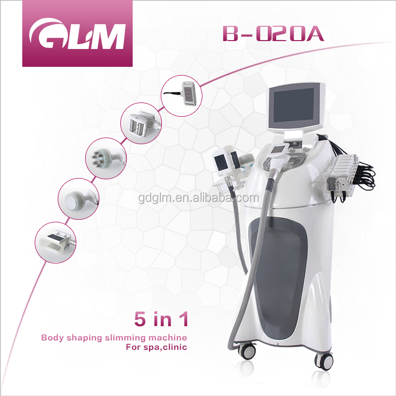 Forever young women perfect body cool tech cryo fat freezing laser cavitation beauty machine parts