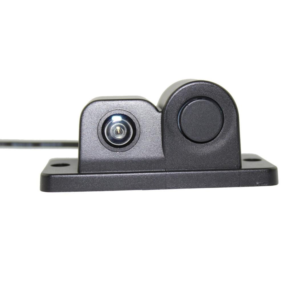 Car Rear View Backup Camera, WuyiMC 170° Waterproof Viewing Angle HD Car Rear View Camera Parking Assistance System with Radar Parking Sensor