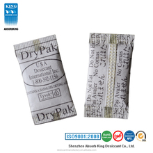 pharmaceutical use silica gel desiccant with tyvek paper