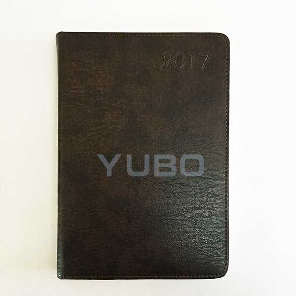 YB-1050 Calendar Diary, PU Cover Diaries, A5 Diary Cover notebook and key holder gift set