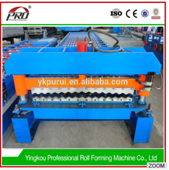 vista types of tile cutting rolling forming machine in metal price