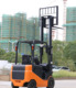seated driver 2 ton 450Ah battery electric forklift truck