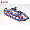 Commercial Outdoor inflatable giant speedyway Go Kart race track for sale