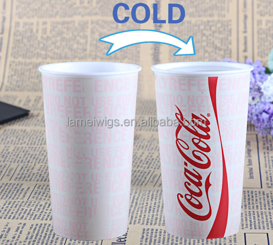 GP0200 Plastic Cup Manufacturer Plastic Cold Color Changing Cup