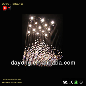 2013 New Design Long Drop Ceiling Lights,Crystal Ball Ceiling ...
