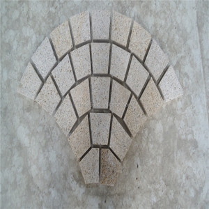 Round Granite paving stone/flagstone