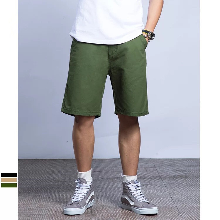 High quality wholesale 100% cotton shorts casual candy colored harf pants for men фото