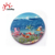 Wholesale custom 3D resin Snow Mountain souvenir plate for sale