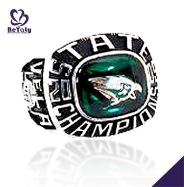 2009 vela state champions eagle shape design jewellery rings