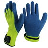 NMSAFETY 7 gauge nappy acrylic liner coated latex non slip heavy duty winter safety work gloves