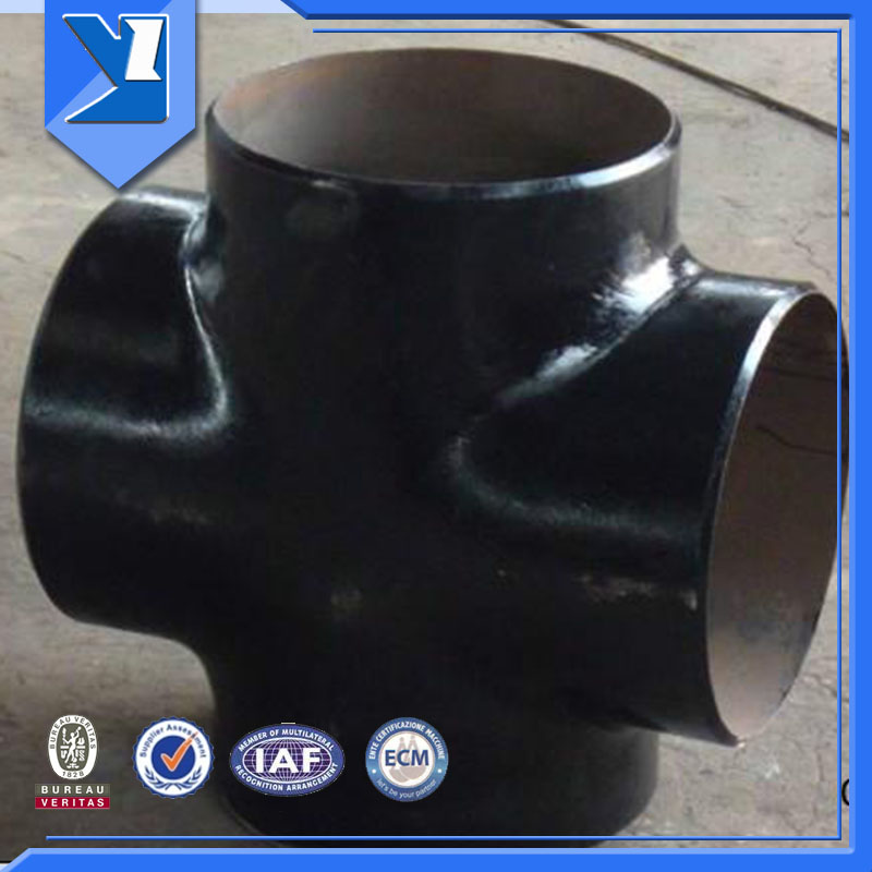 Astm A234 Wpb Butt Weld Pipe Fitting Joint Cross