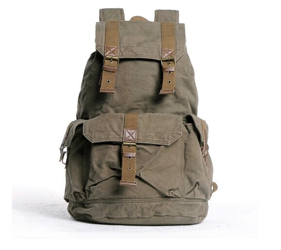 73c2d4938b Newest hot sell casual style canvas backpack