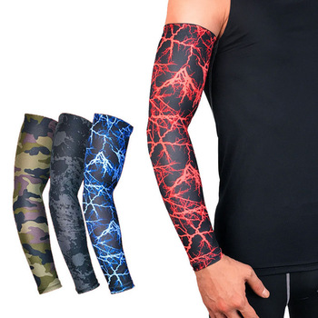 508378d827 YOUME 1Pcs UV Protection Running Cycling Arm Warmers Basketball Volleyball Arm  Sleeves Bicycle Bike Arm Covers