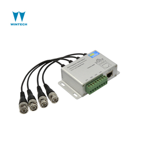 hot sale 4channels active receiver video balun,bnc to rj45 balun converter,video balun