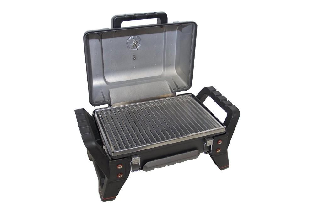 Portatile da tavolo bbq barbecue gas propano griglie con ss griglia per interni camping cortile - Barbecue portatile a gas ...