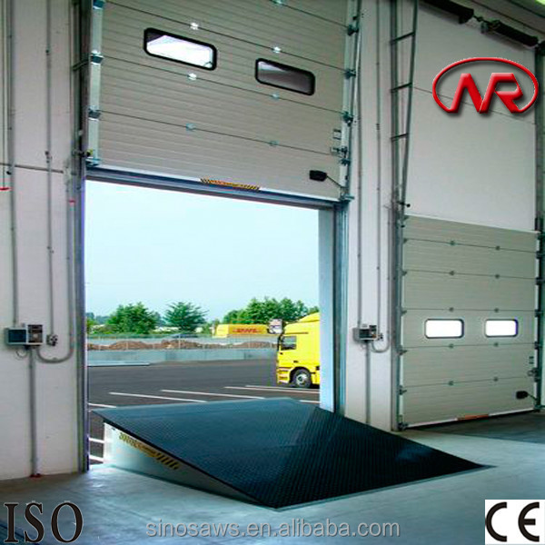 mobile container unloading equipment adjust load ramp for sale