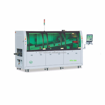 KTU-350 SMT Peripherals Automatic lead free hot air dual wave PCB soldering machine