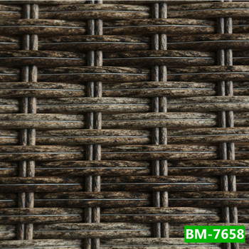 All weather various weaving style synthetic rattan for All weather material