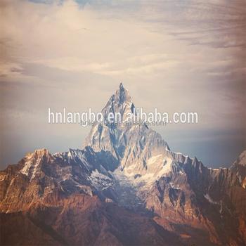 Gunung Everest Himalayan Jarak Salju Gunung Scenery Mural Wallpaper