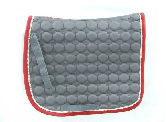 sp044,Royal/White/Green Horse Riding Cotton Saddle Pads / Horse Dressage Saddle Pads / Horse Colors Saddle Pads
