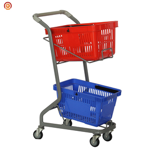 unfolding japanese shopping trolley shopping cart
