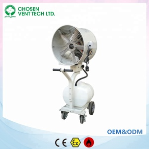 Outdoor water mist fans; industrial water cool fans, industrial humidifier