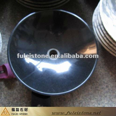 chinese shanxi black granite bathroom sink