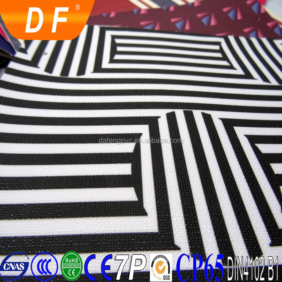 PU Zebra grain leather for lady bags, embossed PU/PVC Zebra film leather for bags material