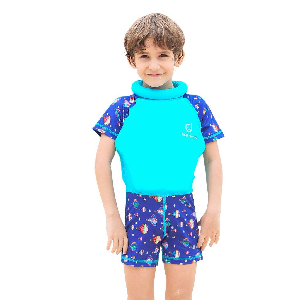 701776cfcf Baby Boys Girls Float Suit Swimsuit Toddler Kids Buoyancy Swimwear 1-7 Years