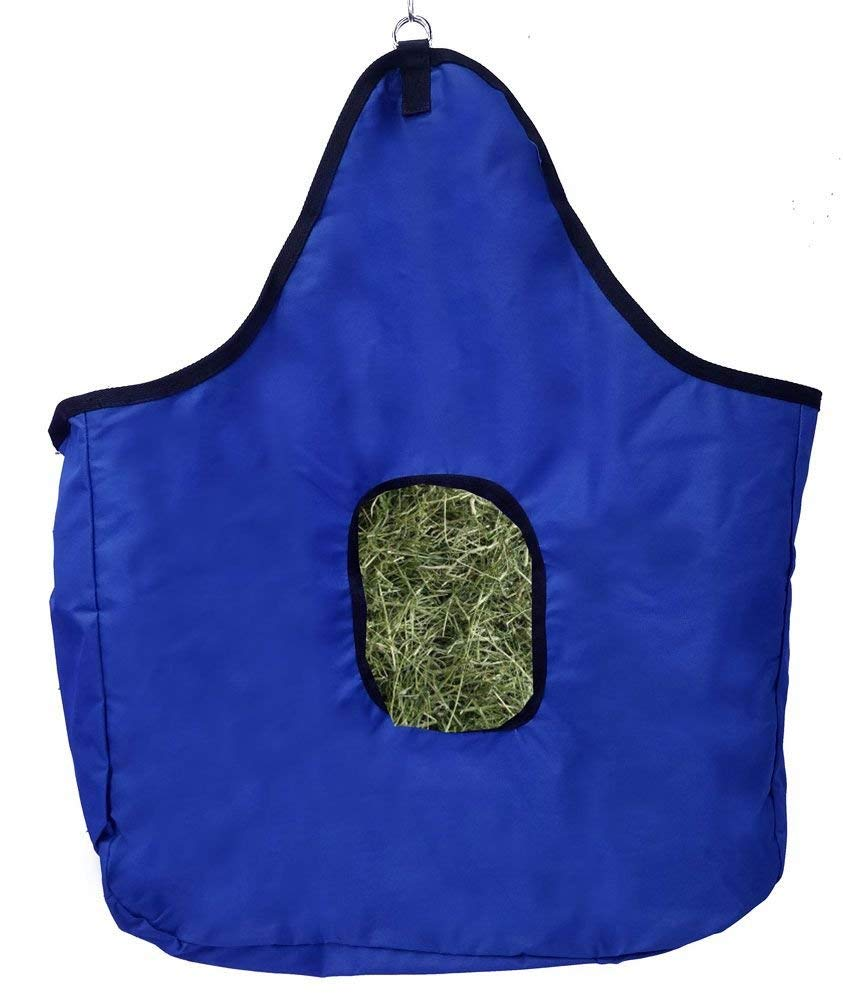 Get Quotations S Saddlery Oversized Half Bale Hay Feeder Bag