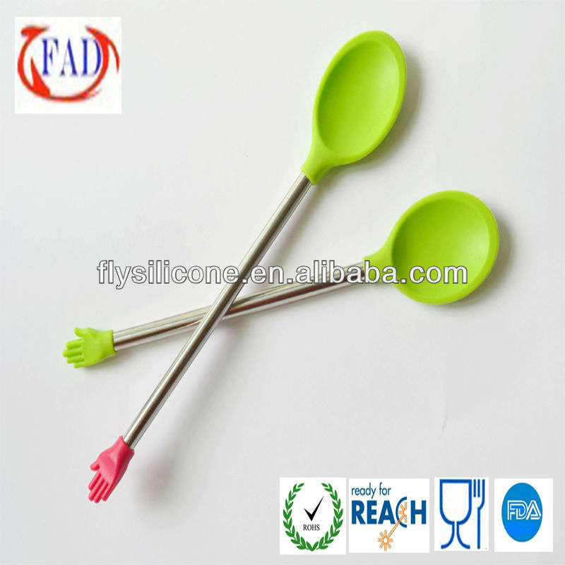 Baby Feeding Plate and Spoon, FDA Silicone with Stainless Steel