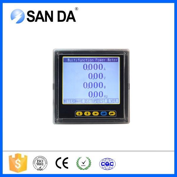Digital Power Meter With Remote Display : Digital only display phase power meter ampere measuring
