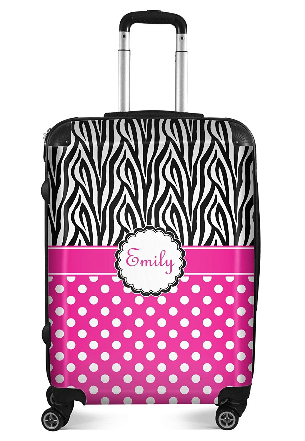 OREZI 3D Red Love Heart Luggage Protector Suitcase Cover 18-32 Inch