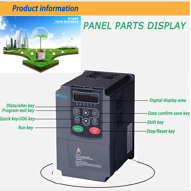Ac Motor Speed Control Variable Frequency Drive Made In