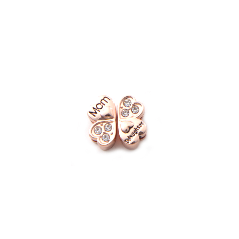 Jewelry Manufacturer Wholesale Personalized DIY Alloy Small Family Initial Charm