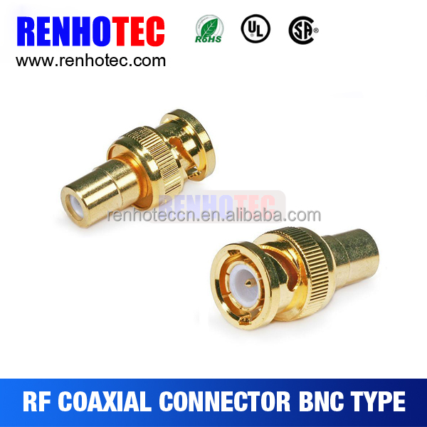 rf adapter bnc to rca connector