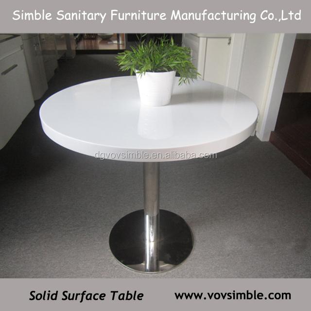Custom Made Acrylic/round Table Top,high Quality Acrylic Round Dining Table  Top