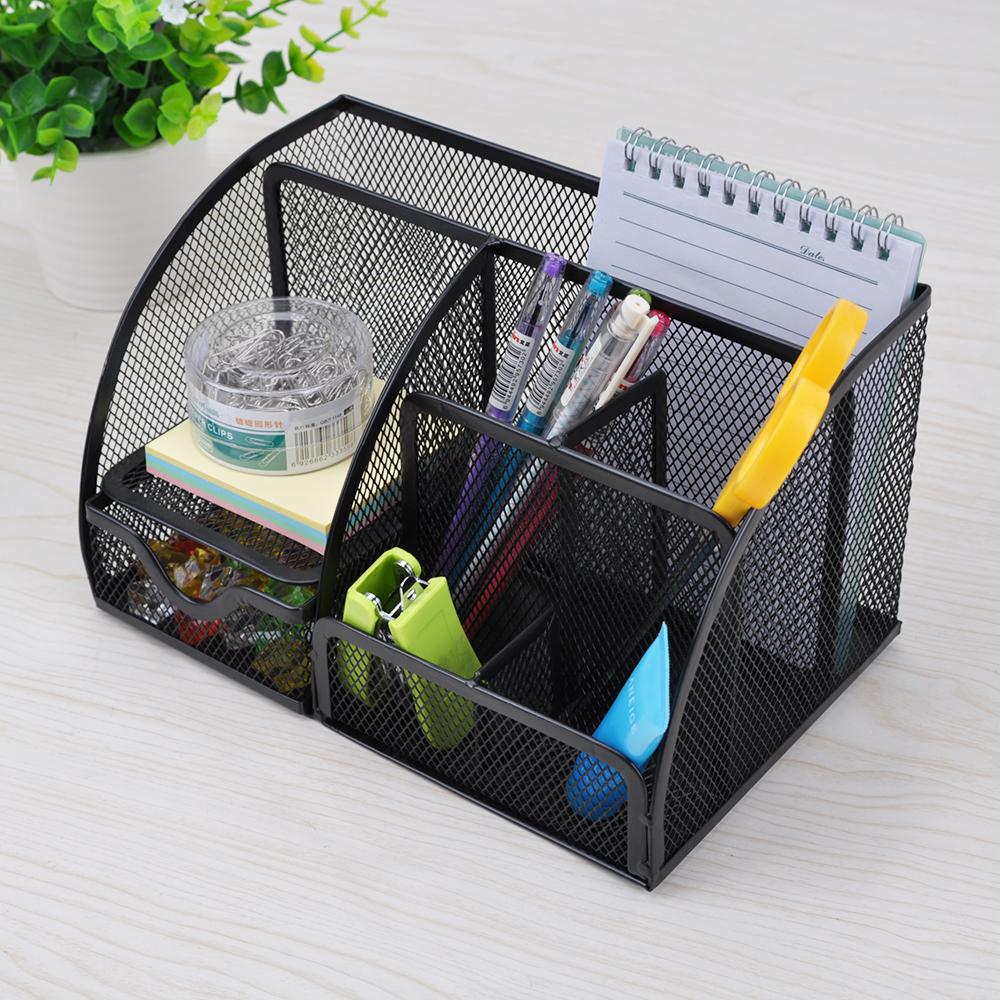 Office & School Supplies Multifunctional Pen Holder Desk Organizer Holder Box Office School Stationery Pen Holders