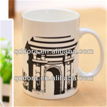 Lightweight Tea Cups ,cup Mug ,paintable Ceramics Mug Different Countries
