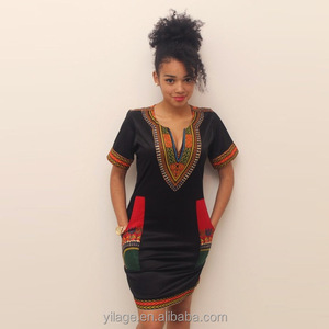 c35ae6a73ac1 Short African Dashiki Print Dress, Short African Dashiki Print Dress  Suppliers and Manufacturers at Alibaba.com