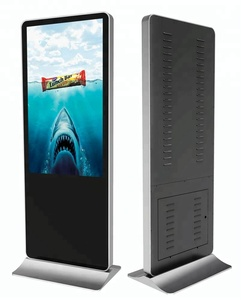 Free standing advertisement 49 inch lcd screen network lcd monitor digital